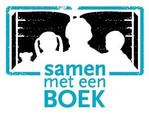 samen met een boek logo