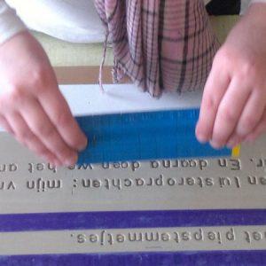 taalkunstwerken maken op school